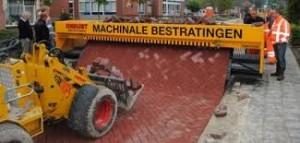machinale bestrating